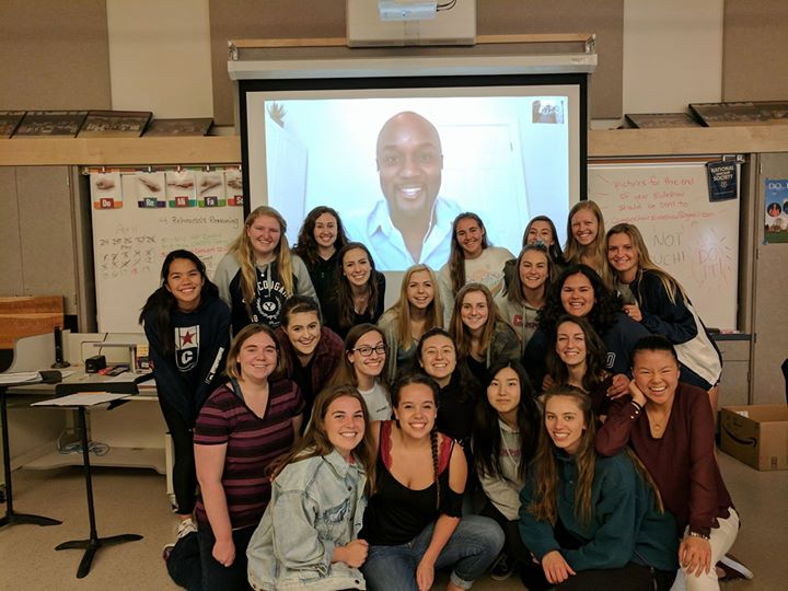 What a joy to have a Skype session with Sydney Guillaum...