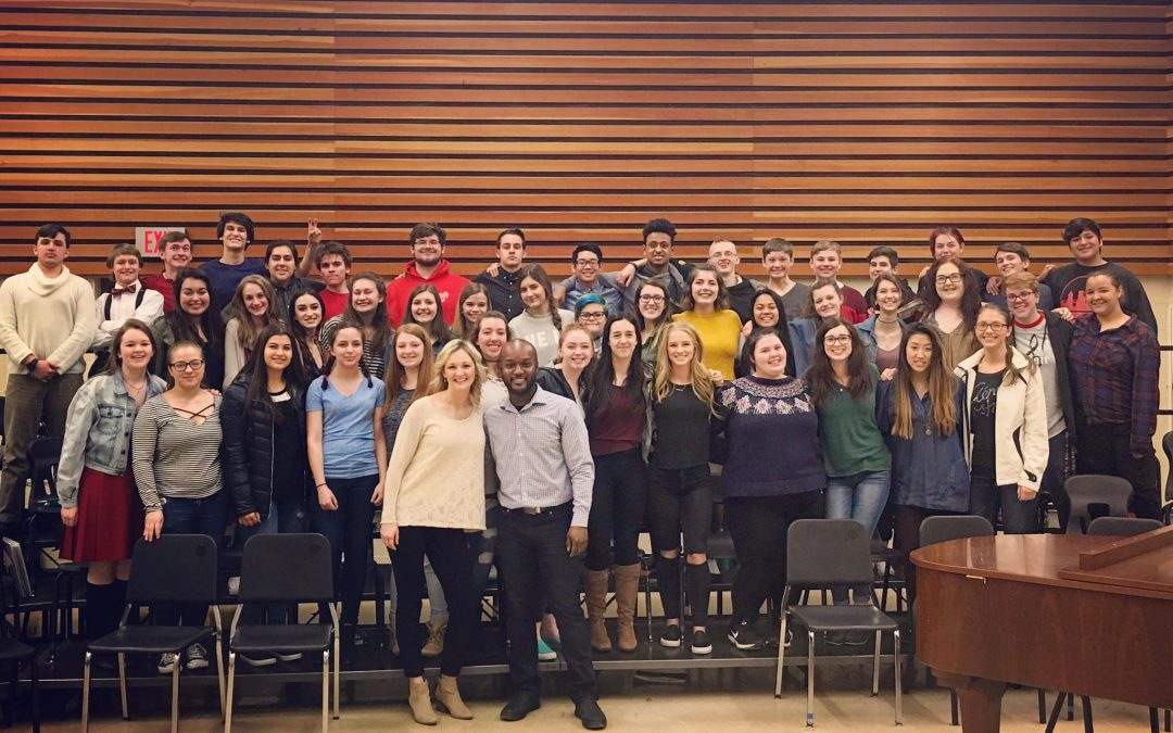 IN PERSON February 2017- with Oregon City High School Concert Choir on Wipip!!!