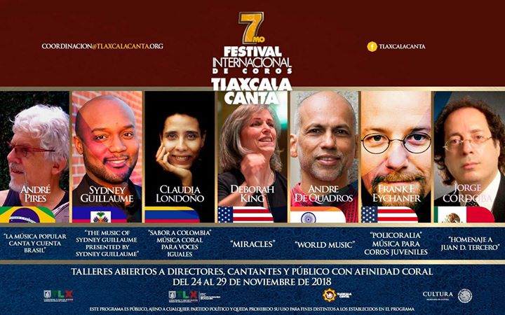 Off to Mexico for the Tlaxcala Canta International Chor...