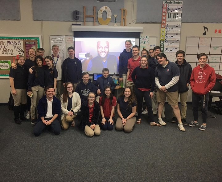 Early morning Google Hangout workshop with Arizona's He...