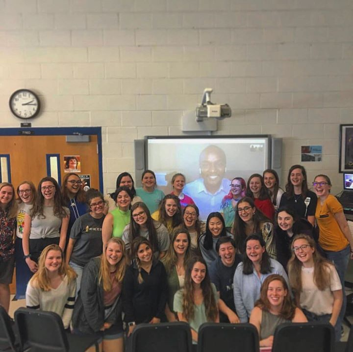 Great Skype workshop today with Georgia's Etowah High S...
