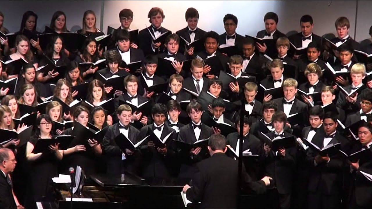 TPSMEA 2013 All-State choir performing Twa Tanbou